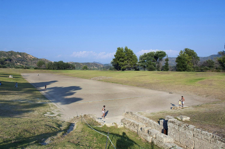 Greece / Ancient Olympia / The stadium