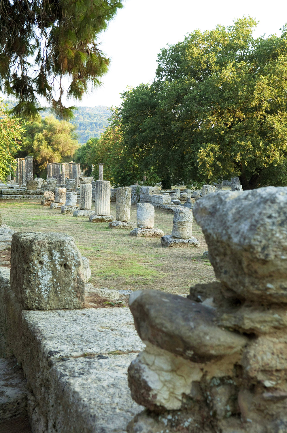 Greece / Ancient Olympia / Palestra of Olympia