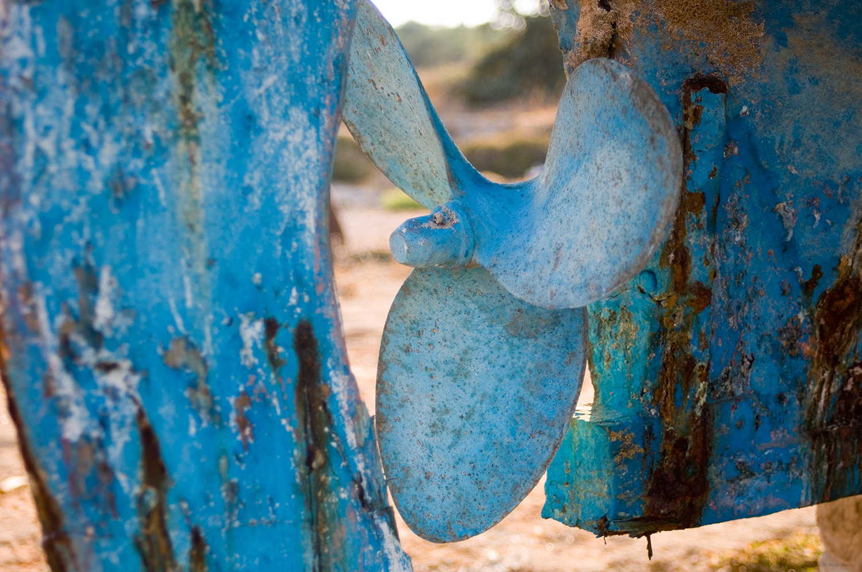 Greece / blue propeller