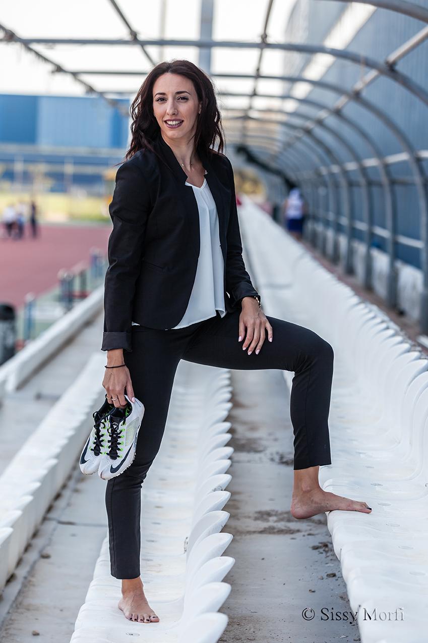 Maria Belibasaki / athlete in 400 metres / BHMAgazino No 64