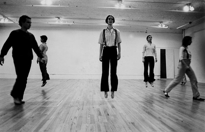 Richard Landry, Einstein on the Beach. 'Dance I' , 1976, Courtesy of the artist