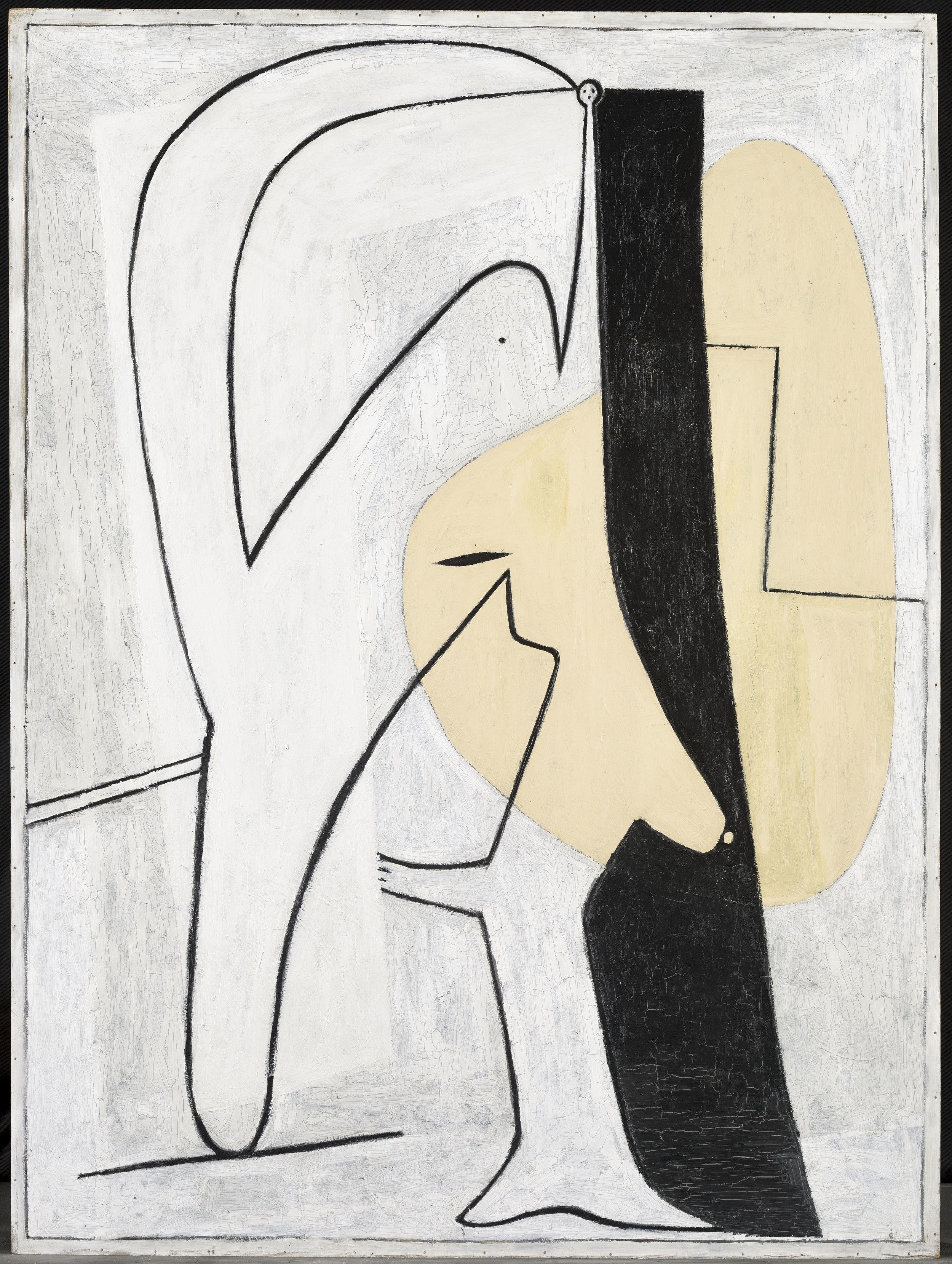 Pablo Picasso.Figure (1927) Musée National Picasso-Paris Dation Pablo Picasso. Courtesy: Pablo Picasso © Pablo Picasso Estate