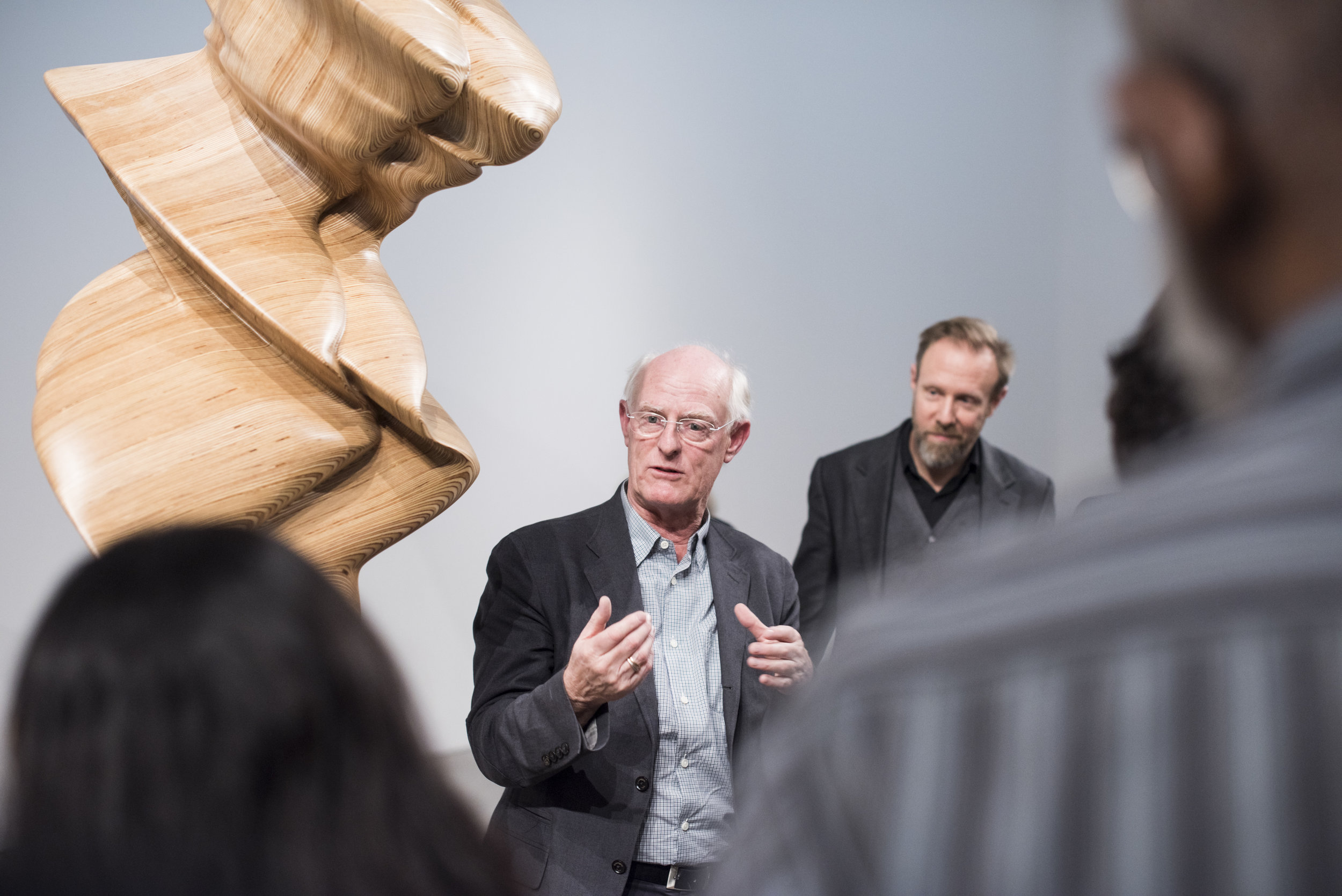 Tony Cragg - portrait. Courtesy of Leila Heller Gallery