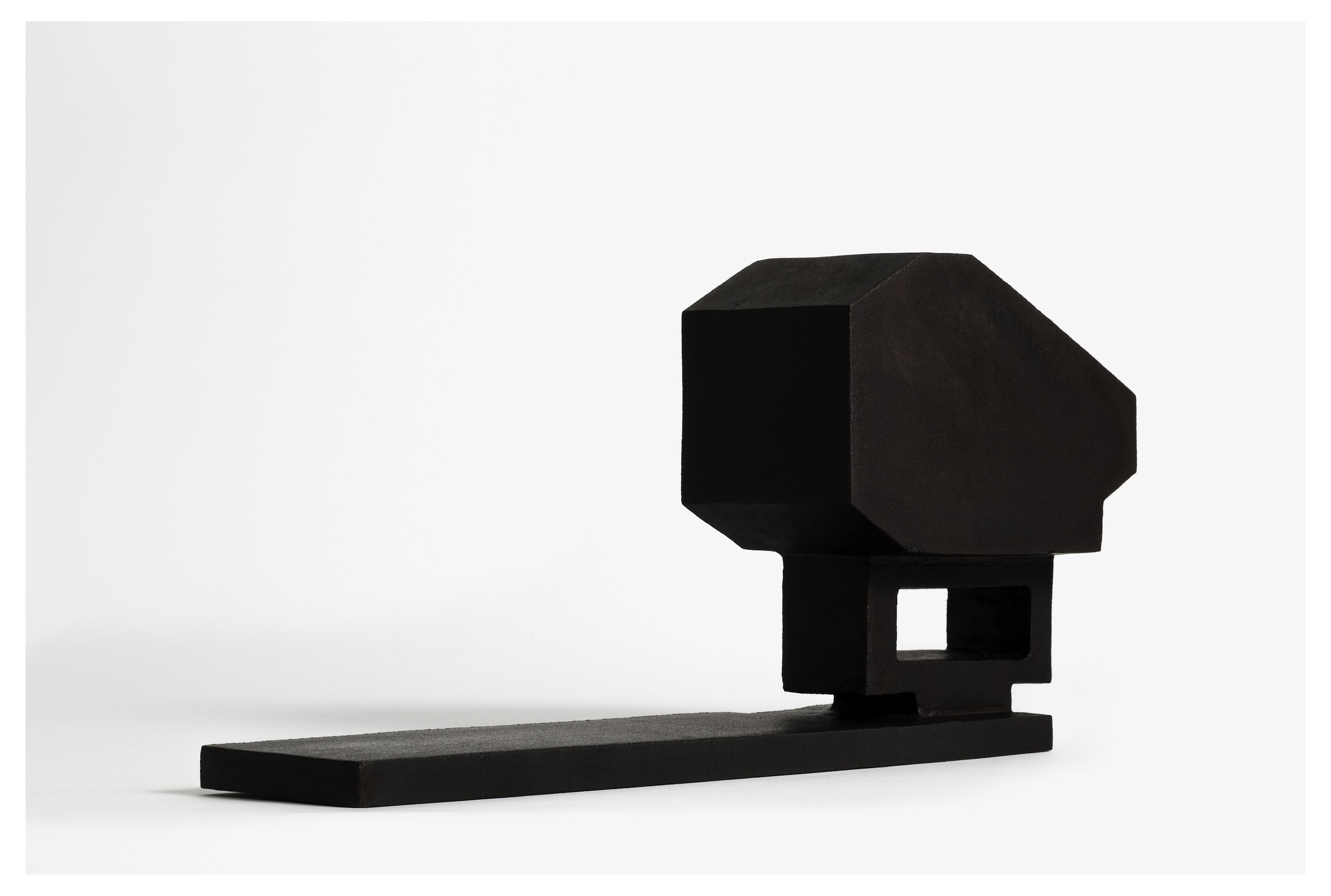 Seher Shah, Untitled (bridge), 2015, cast iron, 18.4 x 10.3 x 38 cm, Ed of 2. Courtesy of Artist and Green Art Gallery, Dubai