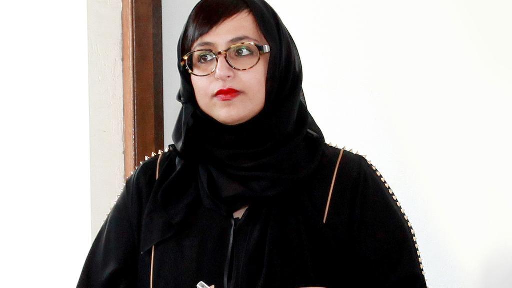 Sheikha Hoor Al Qasimi. Courtesy Alfredo Rubio / Sharjah Art Foundation