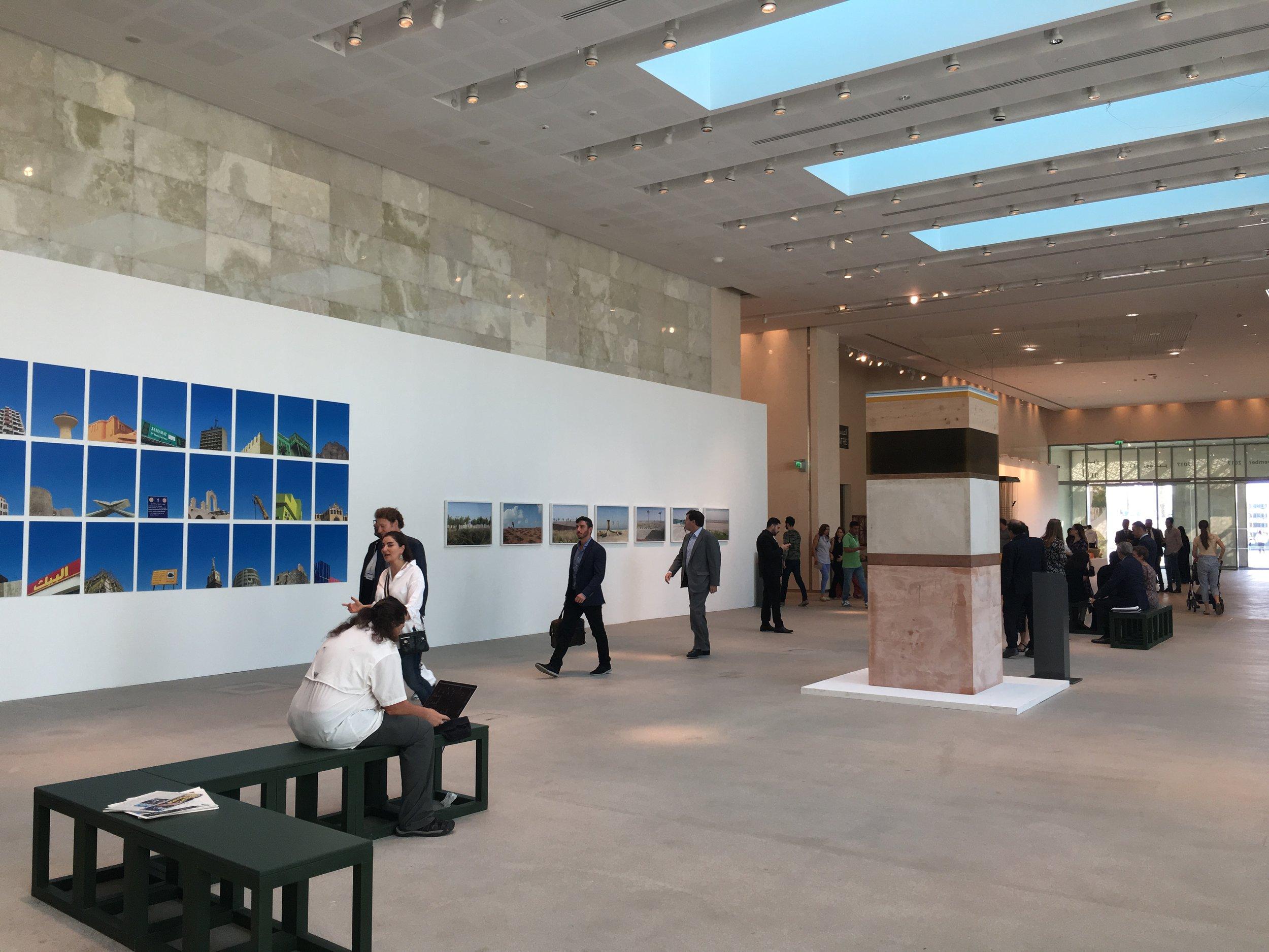 The entrance to Abu Dhabi Art, 2017. Image taken by Anna Seaman
