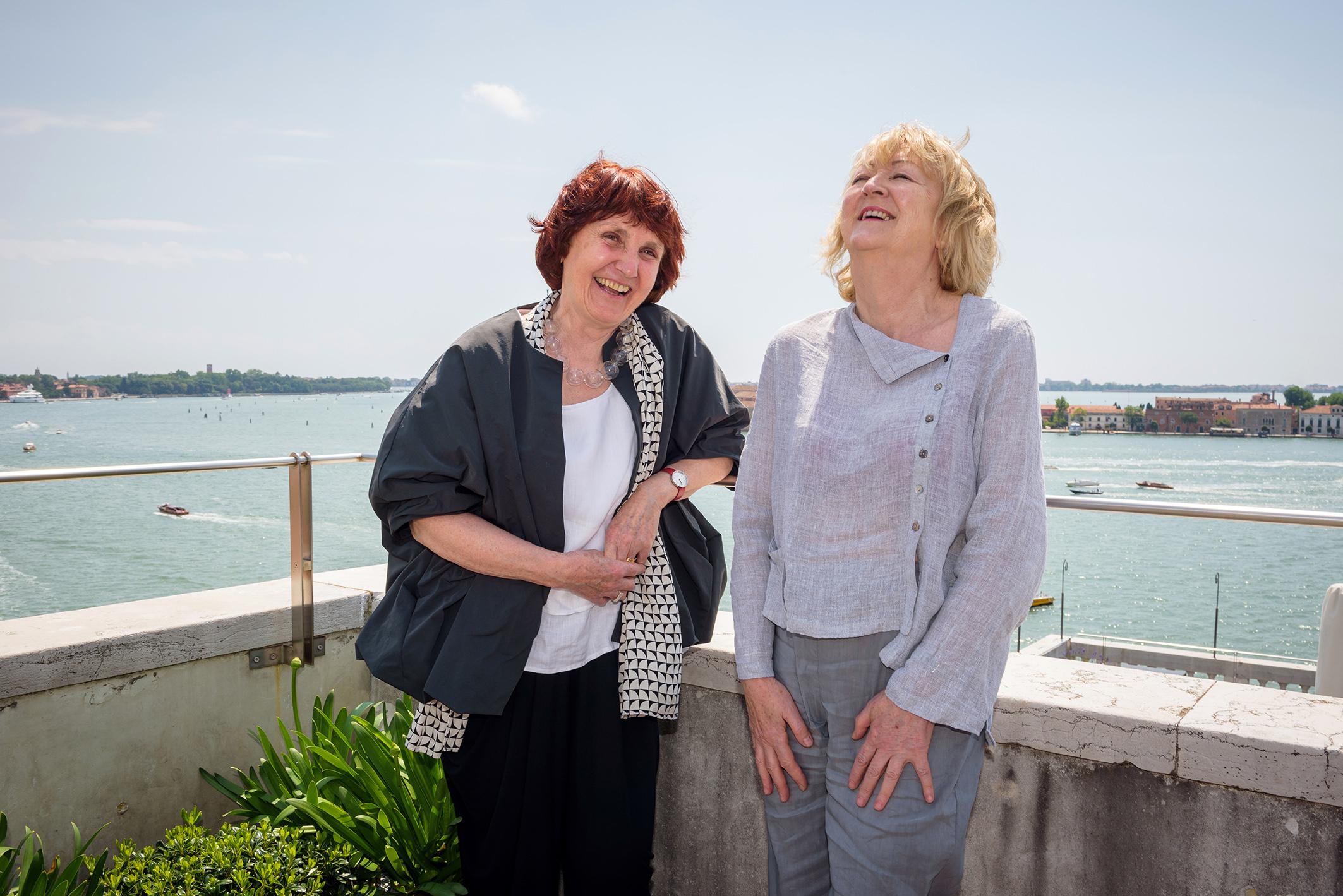"""© Andrea Avezzu. Yvonne Farrell and Shelley McNamara, Directors of the 2018 Venice Architecture Biennale – """"Freespace"""". Image Courtesy of La Biennale di Venezia"""