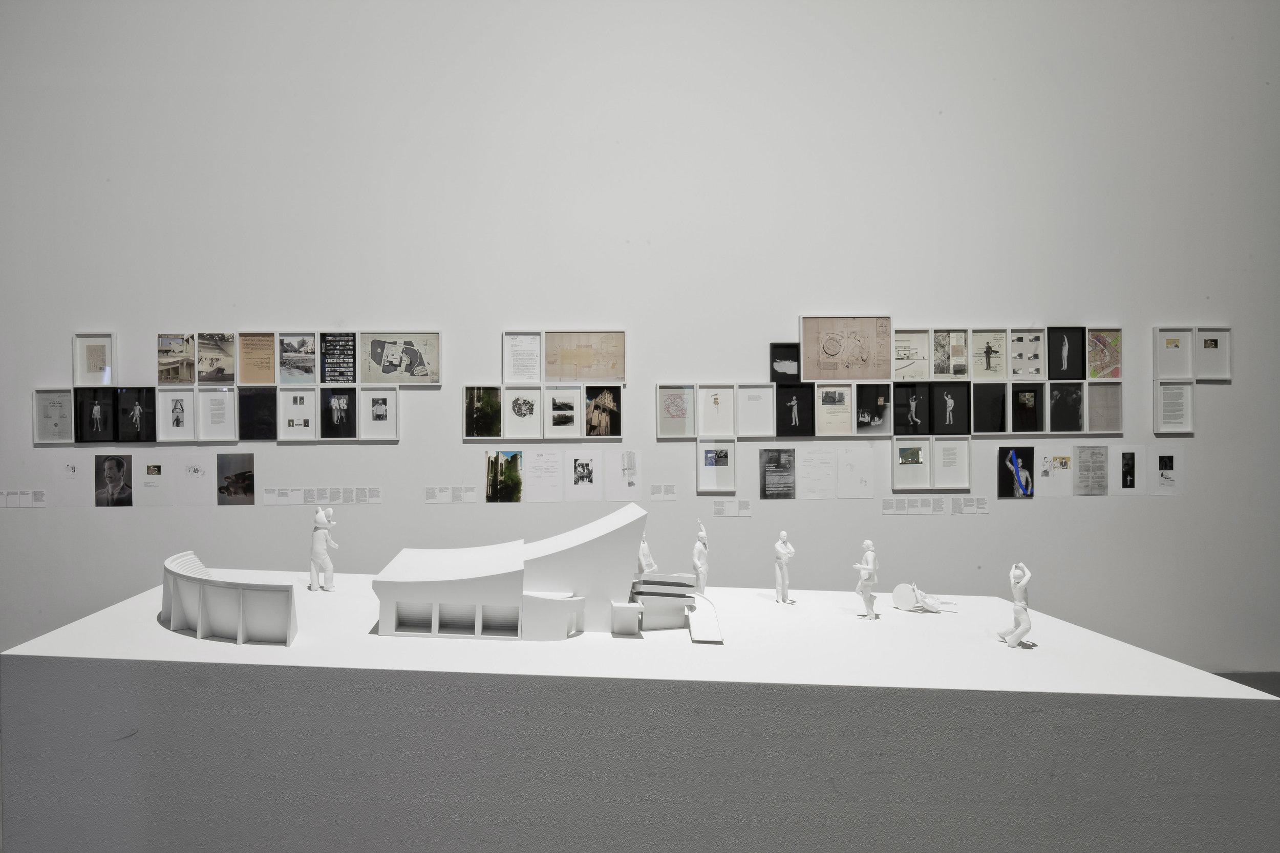 Ala Younis, Plan for Greater Baghdad (2015). Installation view, 56th Venice Biennale. Photo Alessandra Chemollo. Courtesy la Biennale di Venezia.