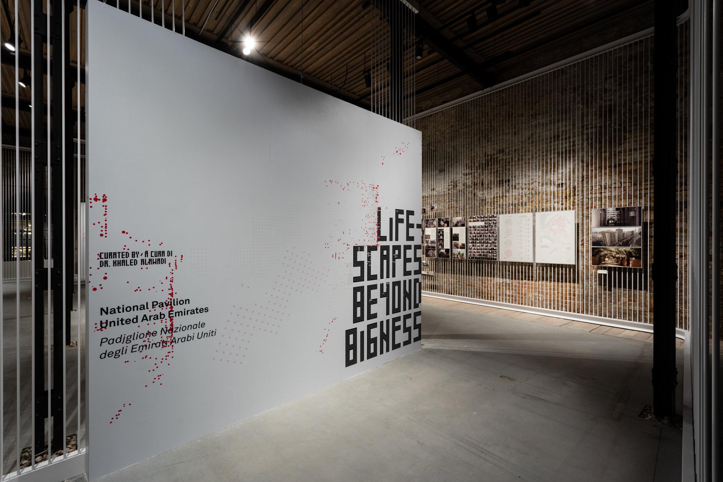 Lifescapes Beyond Bigness. The UAE's 2018 Pavilion for the International Architecture Exhibition at the Venice Biennale. Courtesy National Pavilion UAE.