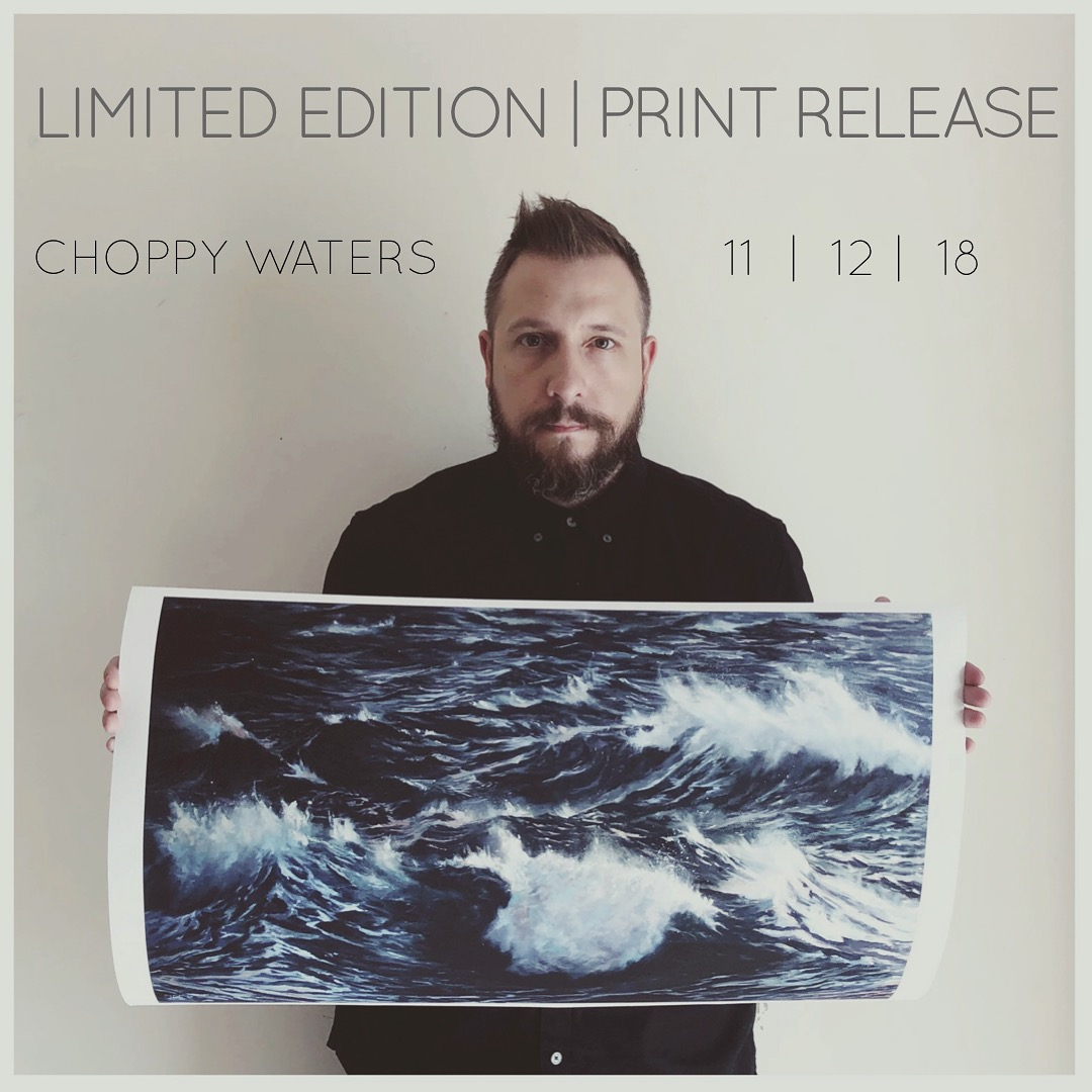 Matthew Ryder with Choppy Waters. Image courtesy of the artist.
