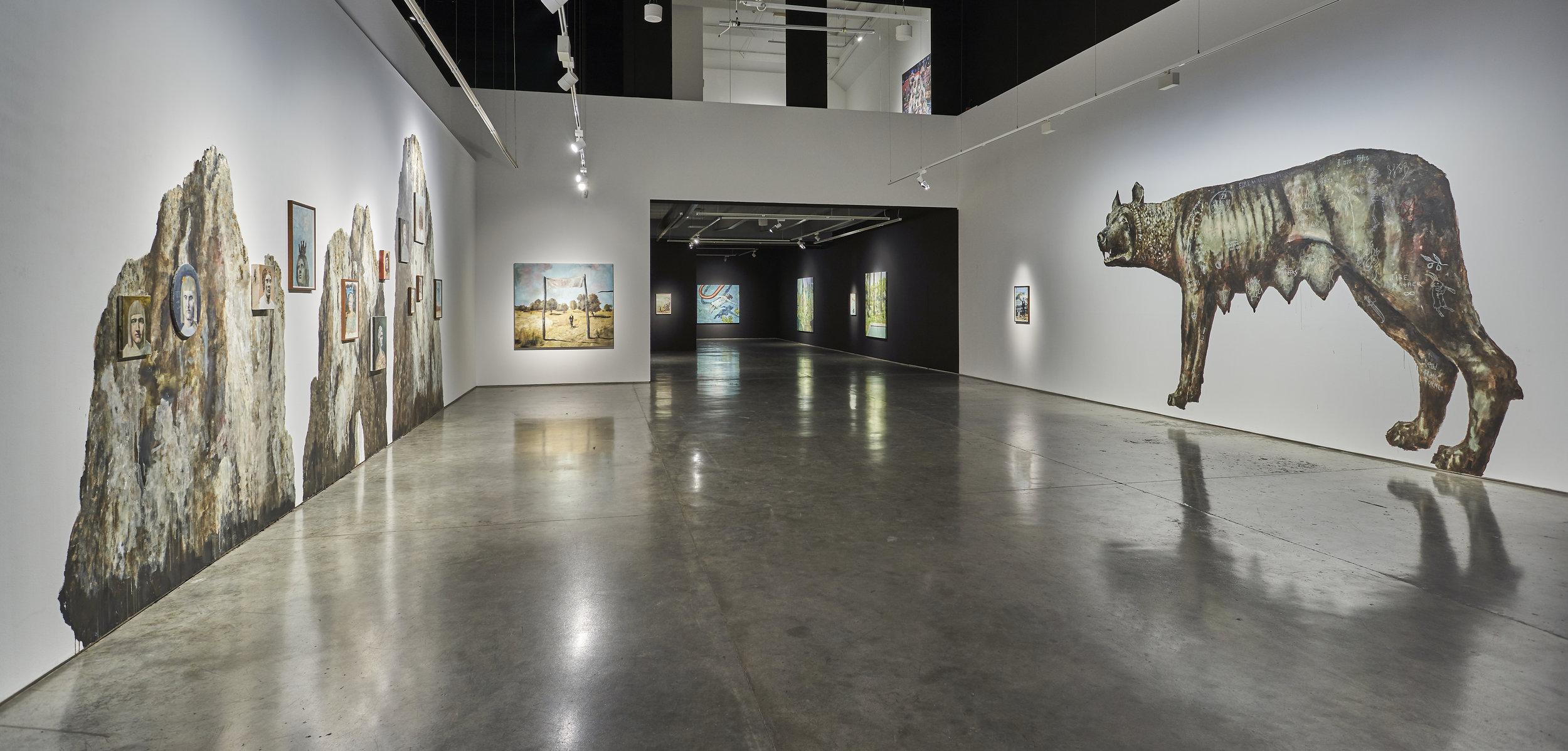 Phillip Mueller exhibition at Salsali Private Museum. Courtesy of SPM.