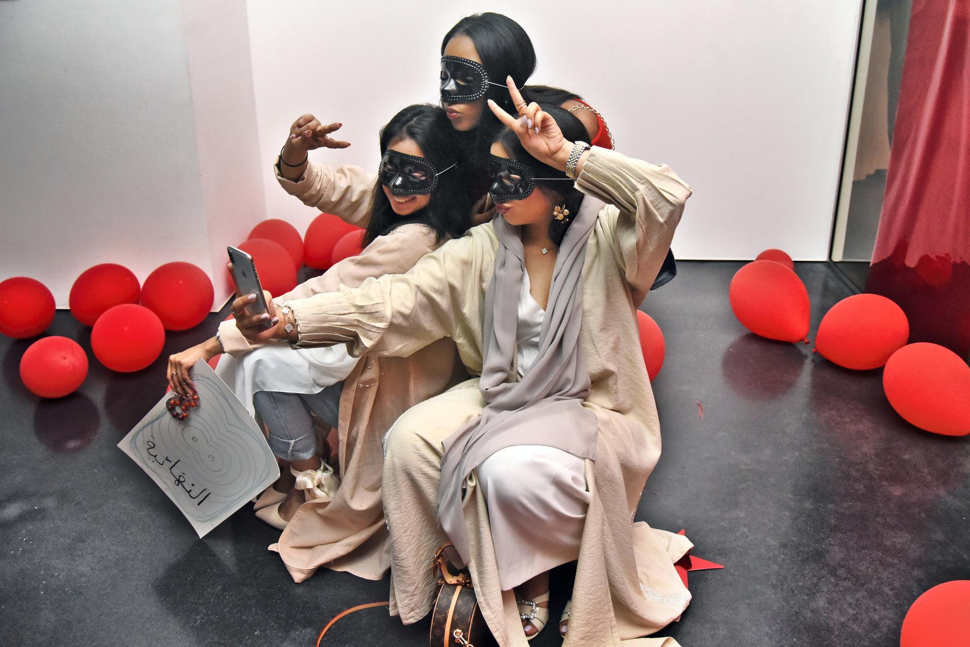 The Jameel Arts Centre engaged the young community in Dubai and gave them full control of the centre. Photo credit: Shruti Jan for The National