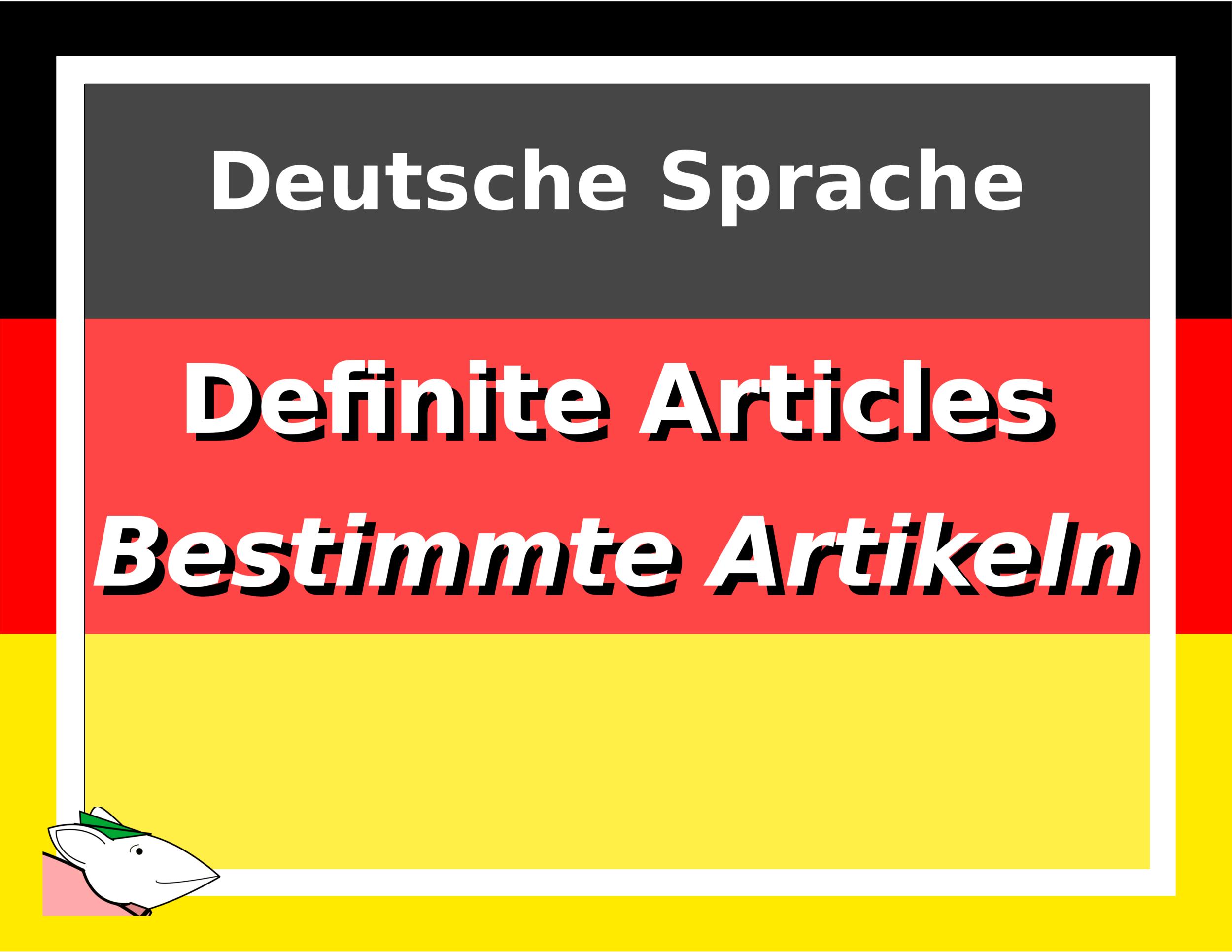 Definite Articles Cover