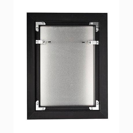 Back of art box frame -