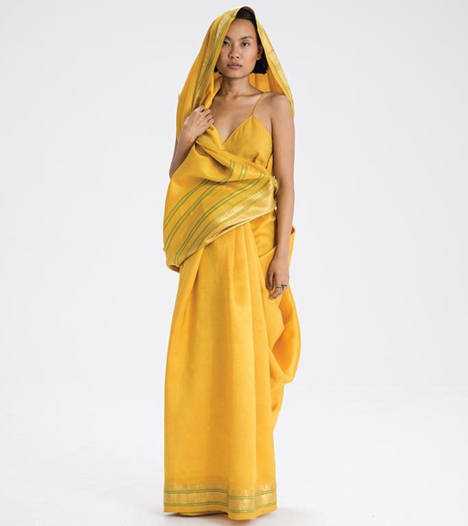 Hazaribag sari drape from Jharkhand