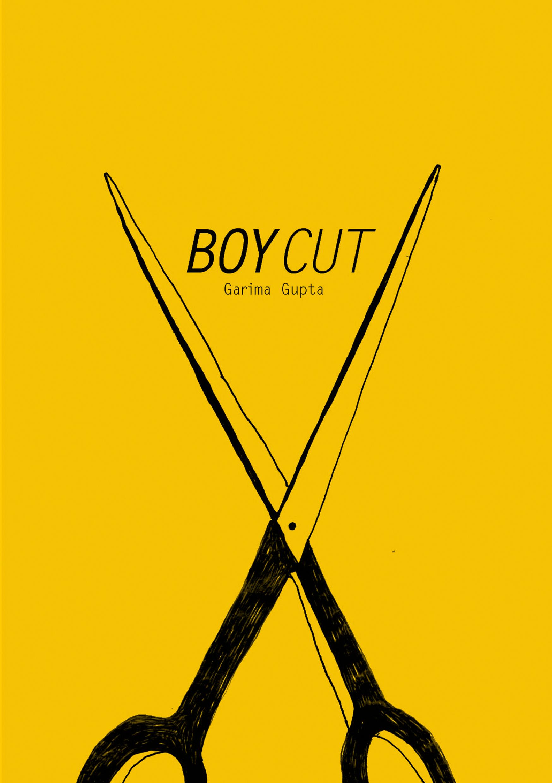 Boy Cut zine front cover by Garima Gupta