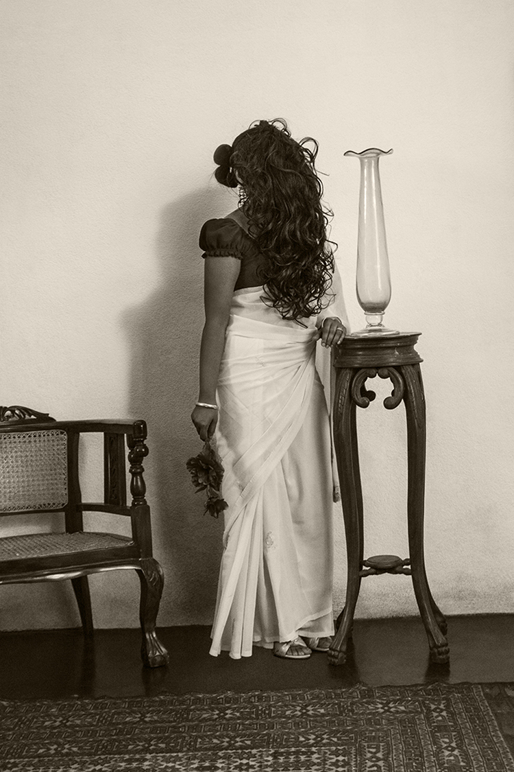 Anoli Perera, I Let My Hair Loose (Protest Series), 2010-2011