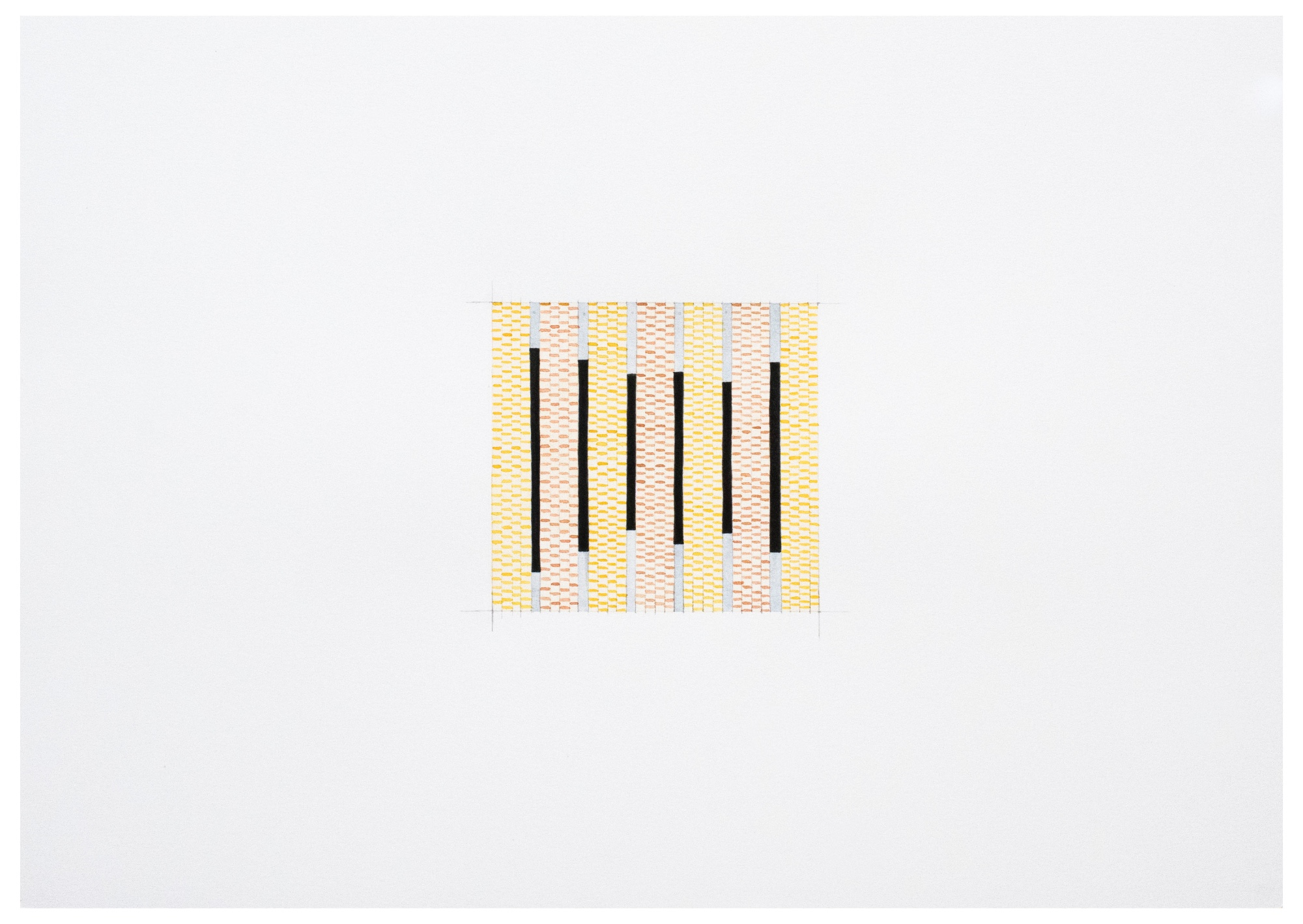 The playful, staccato rhythms of the drawings hold the capacity for stillness and contemplation