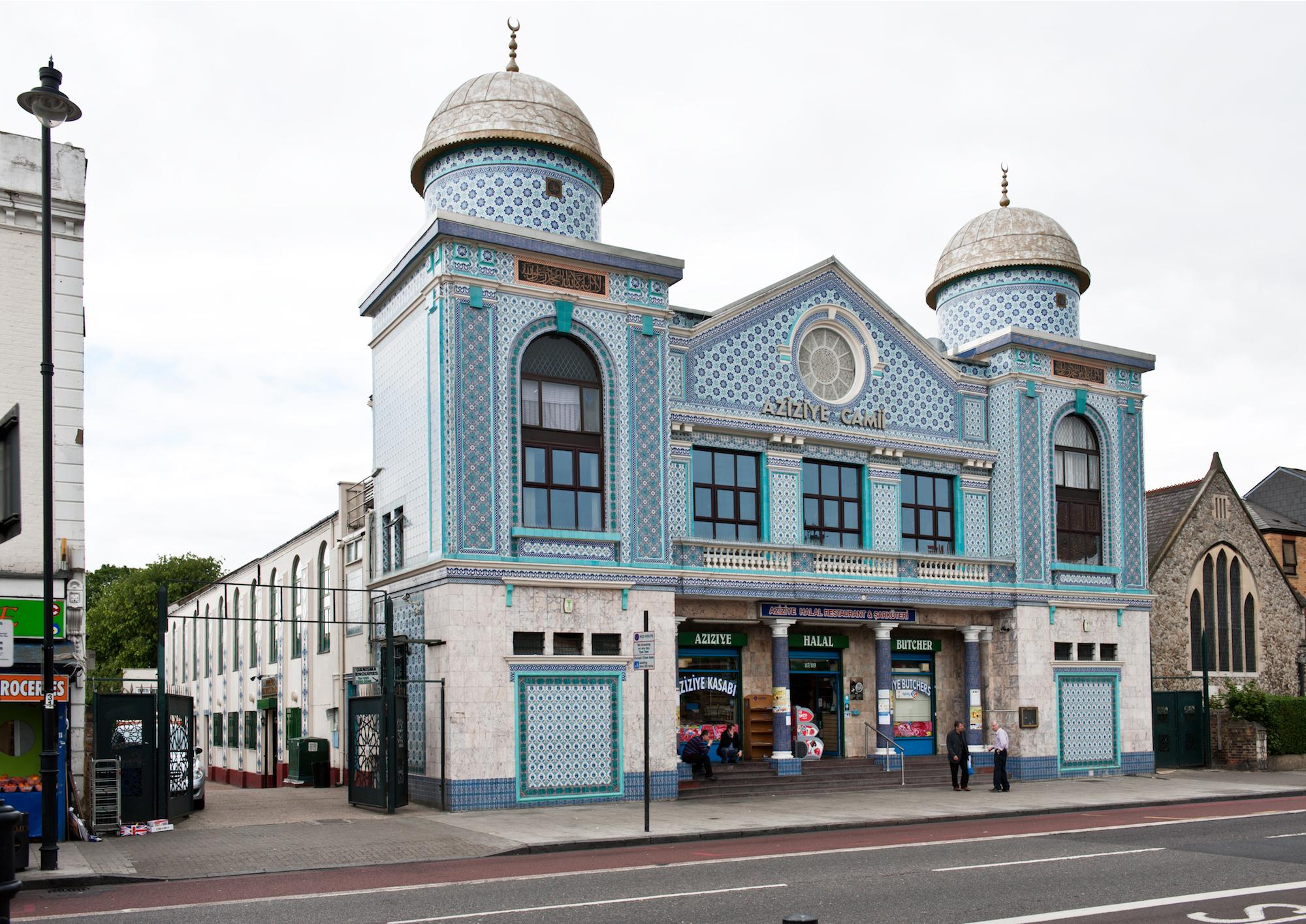 The Aziziye Mosque London, east London