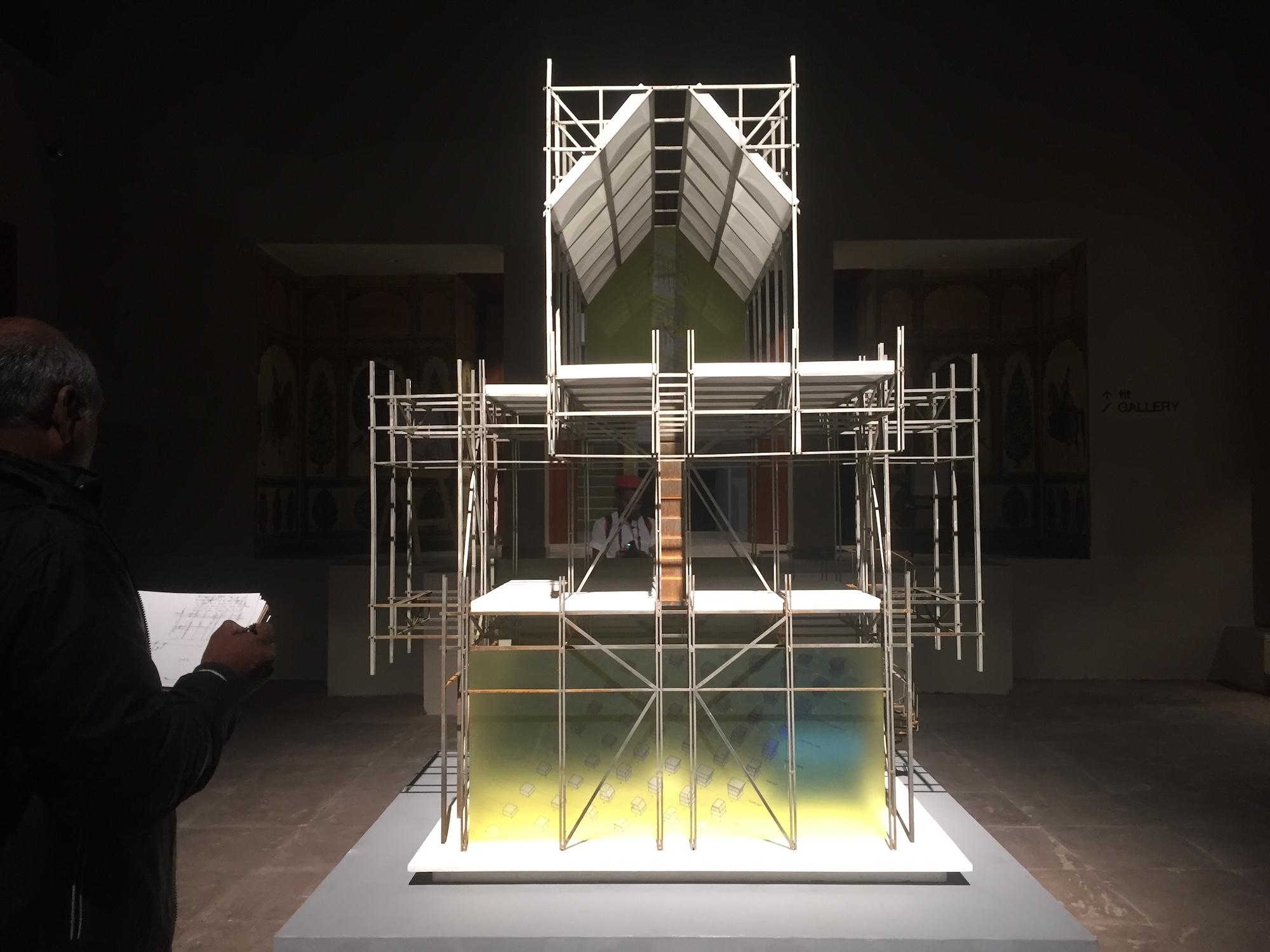 Pavilion for Incremental Form by Anthill Design