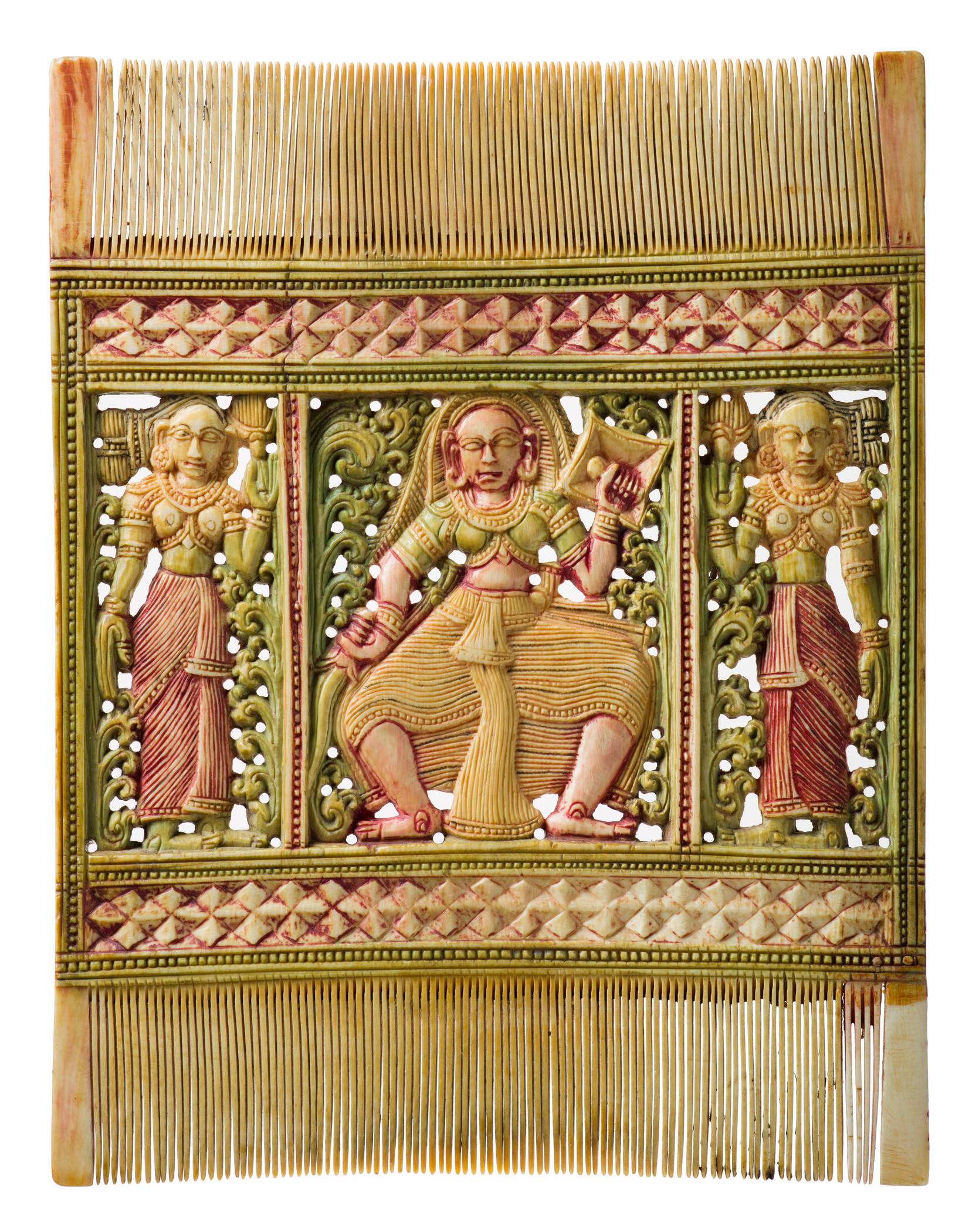Comb (18th-19th century), artist unknown. Image courtesy of LACMA.