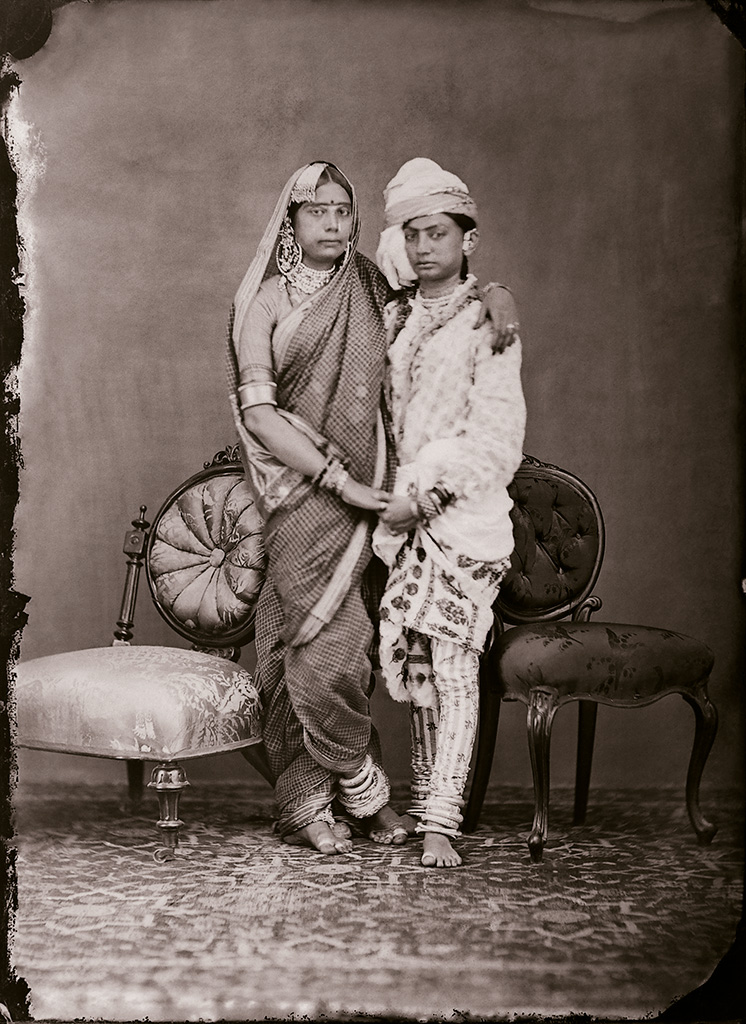 Maharaja Sawai Ram Singh II,  Unidentified women of the zenana , c. 1870, courtesy of Maharaja Sawai Man Singh II Museum Trust