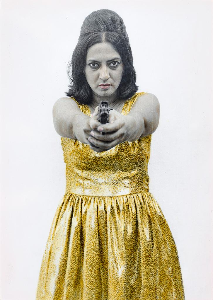 Pushpamala N,  Sunhere Sapne , 1998, courtesy of Shumita and Arani Bose Collection