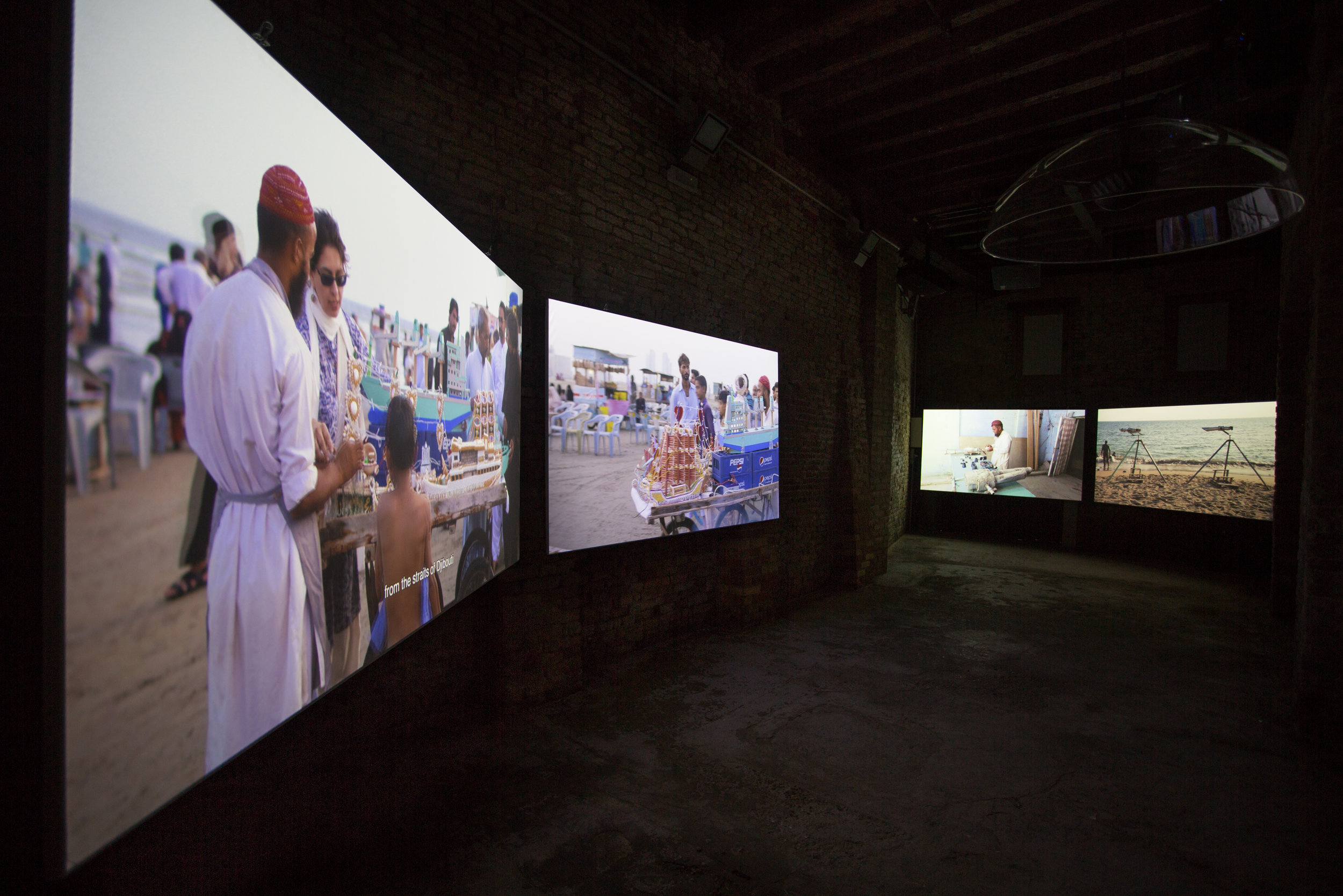 Pavilion of Pakistan (Installation view of Sticky Rice and Other Stories, Naiza Khan, 2019). Credit Riccardo Tosetto Photography (1)