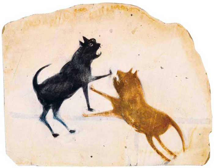 Untitled-Two-dogs-Fighting-Bill-Traylor-c.-1854–1949.png