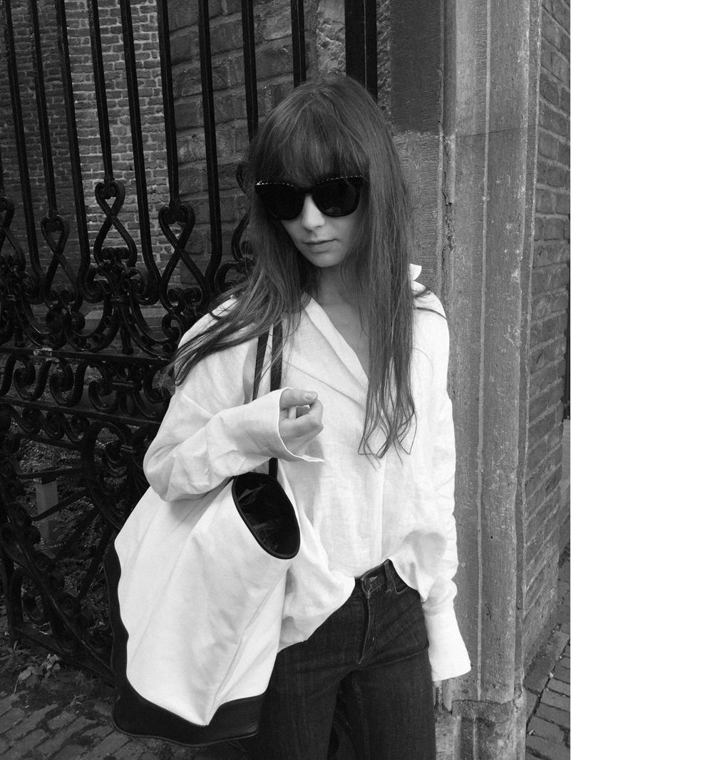 Givenchy sunnies - Zara shirt - COS denim - Haus of Mana bag - Gucci Loafer. 4.PNG
