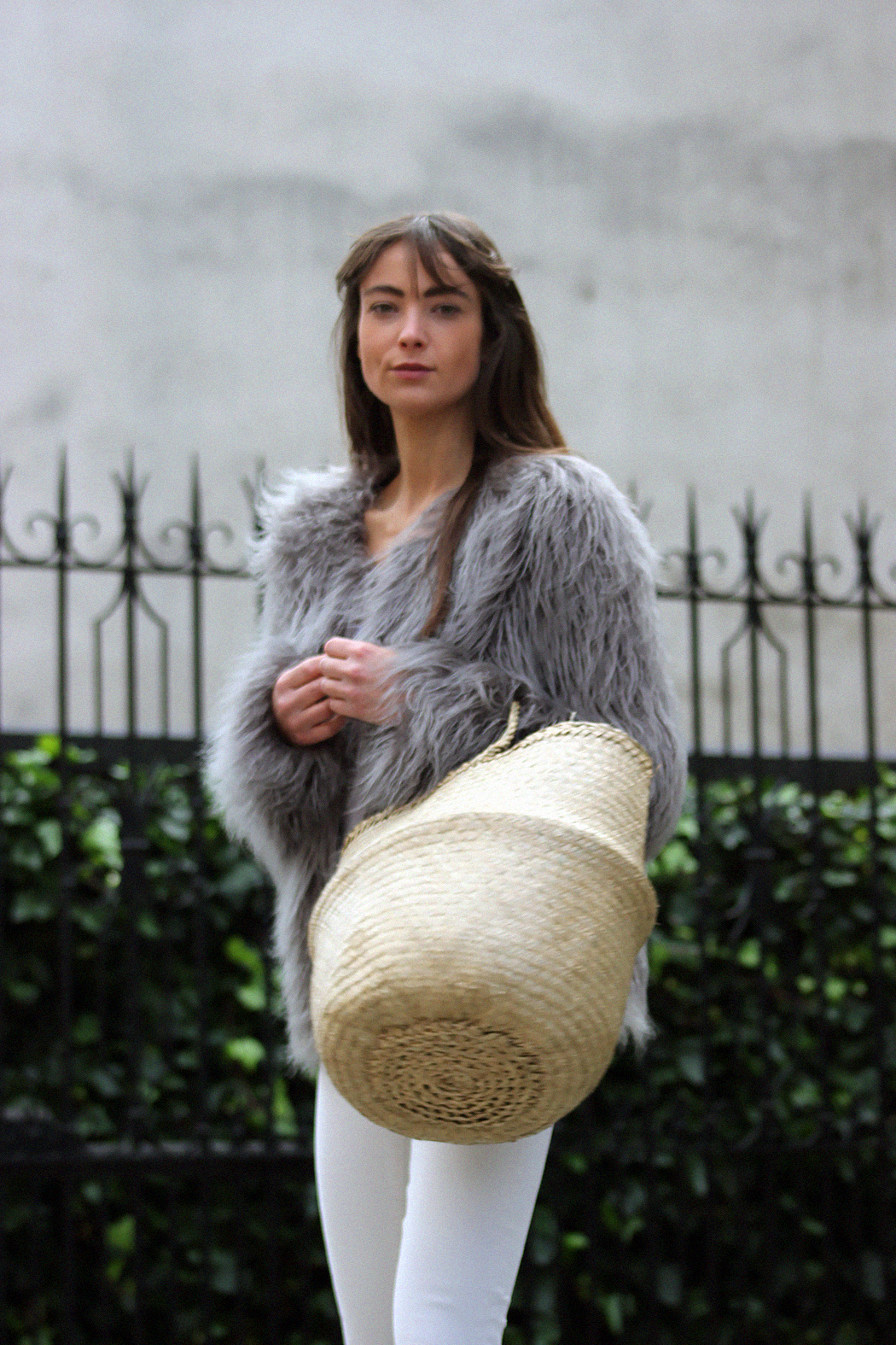 Unreal Fur coat, Zara top, AYR denim, Gucci loafers - Modedamour 2.png