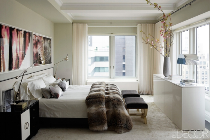 Ivanka-Trump-apt-by-Kelly-Behun-bedroom-white-fur-1940s-French-lacqured-nightstands.jpg