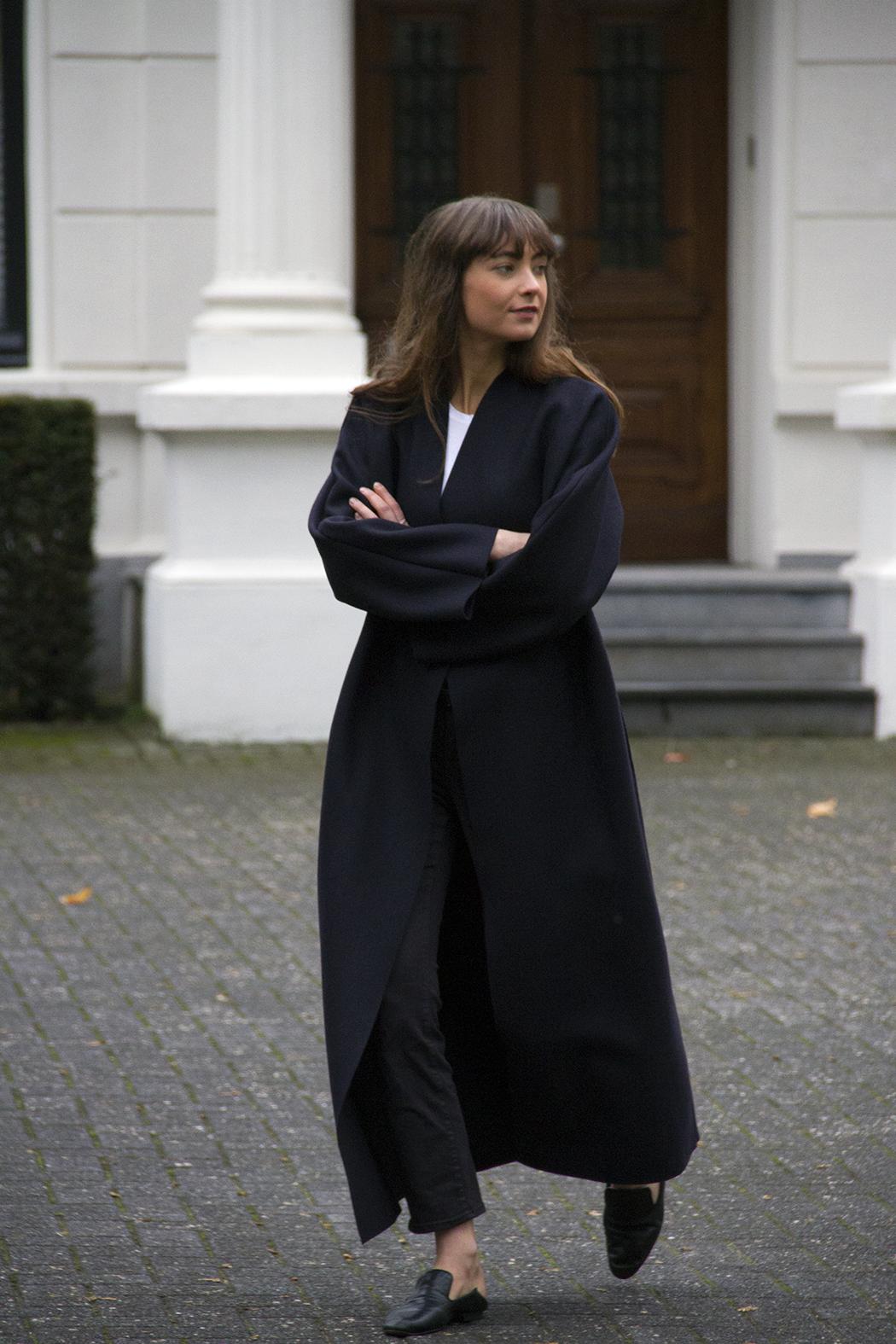 Mango coat, AYR denim, Massimo Dutti loafers - Modedamour 7 .png