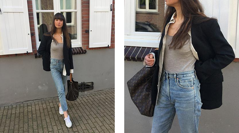 By Malene Birger blazer, COS shirt, Ralph Lauren top, CoH jeans, Superga sneaker, Louis Vuitton bag 3.png
