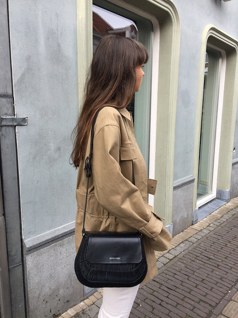 HM Coat, By Malene Birger jacket and shirt, Ralph Lauren denim, Wicker Wings bag, COS loafers 6.png