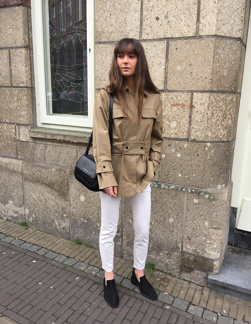 HM Coat, By Malene Birger jacket and shirt, Ralph Lauren denim, Wicker Wings bag, COS loafers 7.png