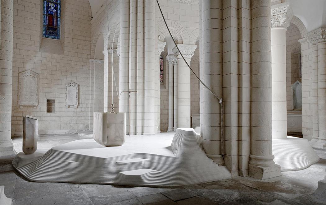 St. Hilaire church in Melle by Mathieu Lehanneur 3.png