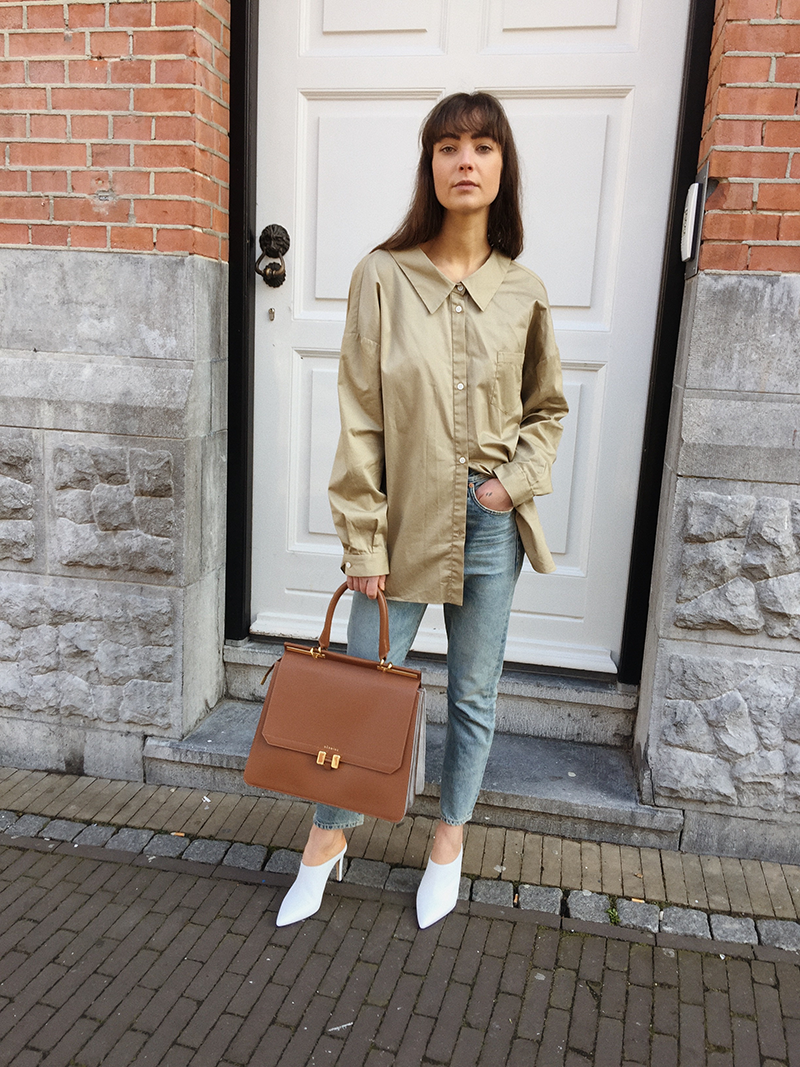 By Malene Birger shirt, Citizens of Humanity jeans, Manfield heels, Maison Heroine bag.png