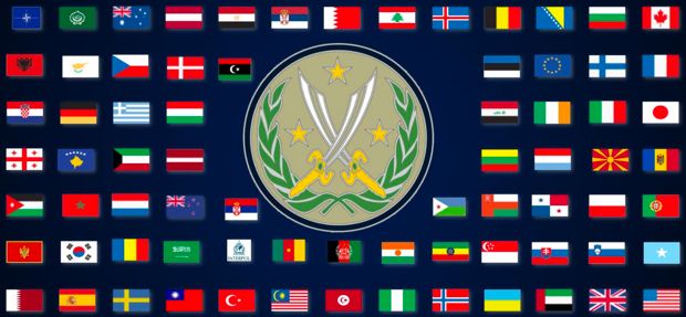 "One mission, many nations"", The Combined Joint Task Force – Operation Inherent Resolve.    US Department of Defense"