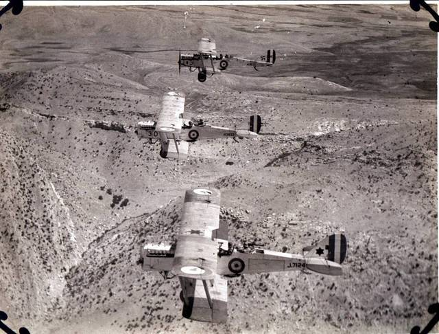 AERIAL POLICING IN IRAQ.   AIRMINDED