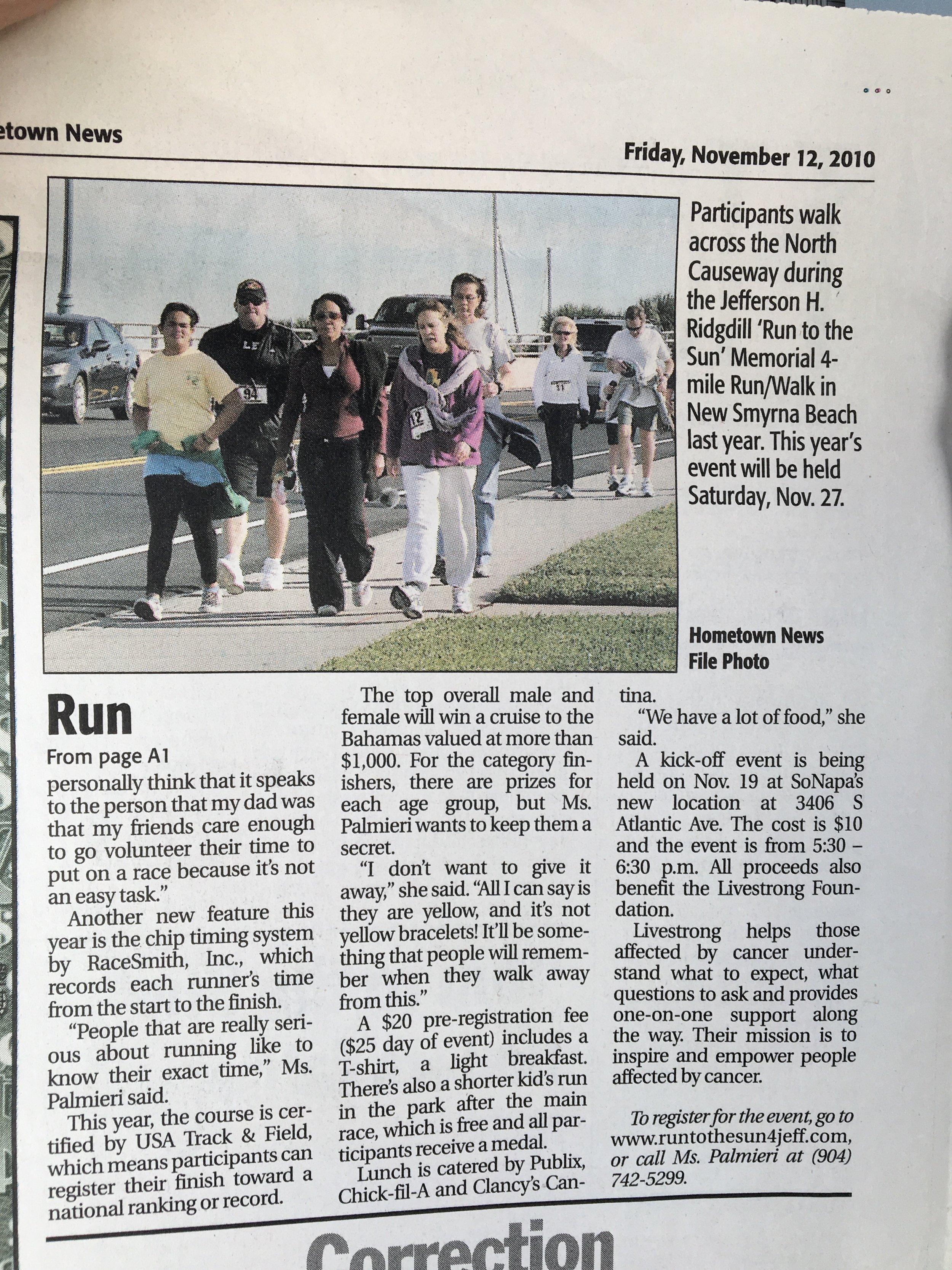 Run to the Sun CUDAS UnHooked History 6.jpg