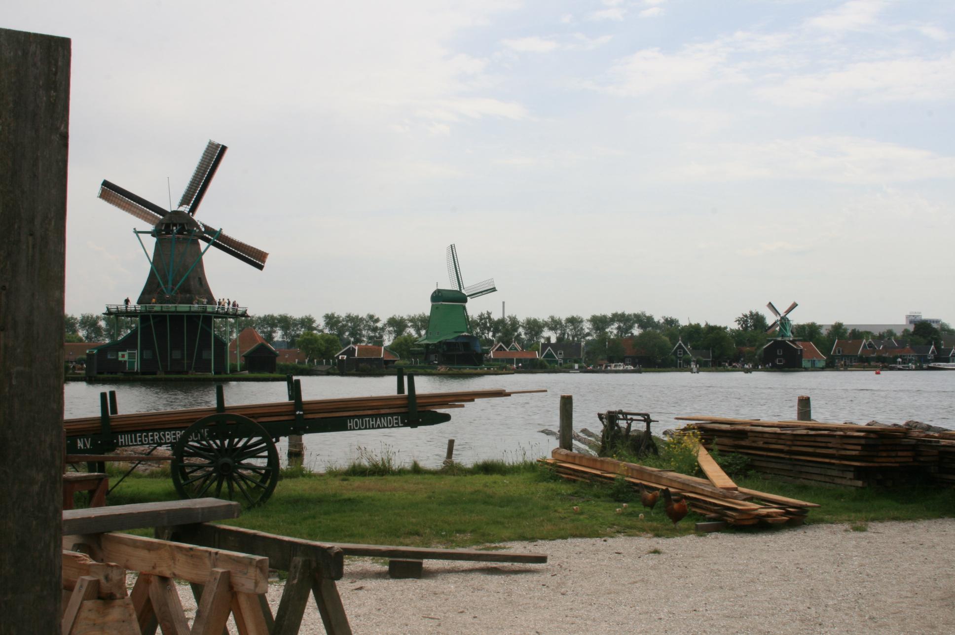 Timber Mill yard