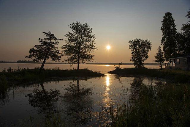 Serenity Now, McCreary Beach, Perth Ontario  #sunrise #peace #tranquility #soundofsilence #ripples #morningfog #zen #retreat #resort #sunenergy  #michalpasco #nikonshooter #creation #naturesbeauty #fresh