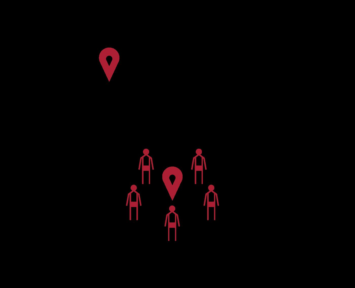 - La Oficina en Colombia de la Alta Comisionada de las Naciones Unidas para los Derechos Humanos, confirmó la existencia de redes encargadas de ofrecer a las víctimas, trabajos bien remunerados en municipios diferentes a su lugar de origen y procurarles los medios para transportarlos, donde serían posteriormente asesinados.