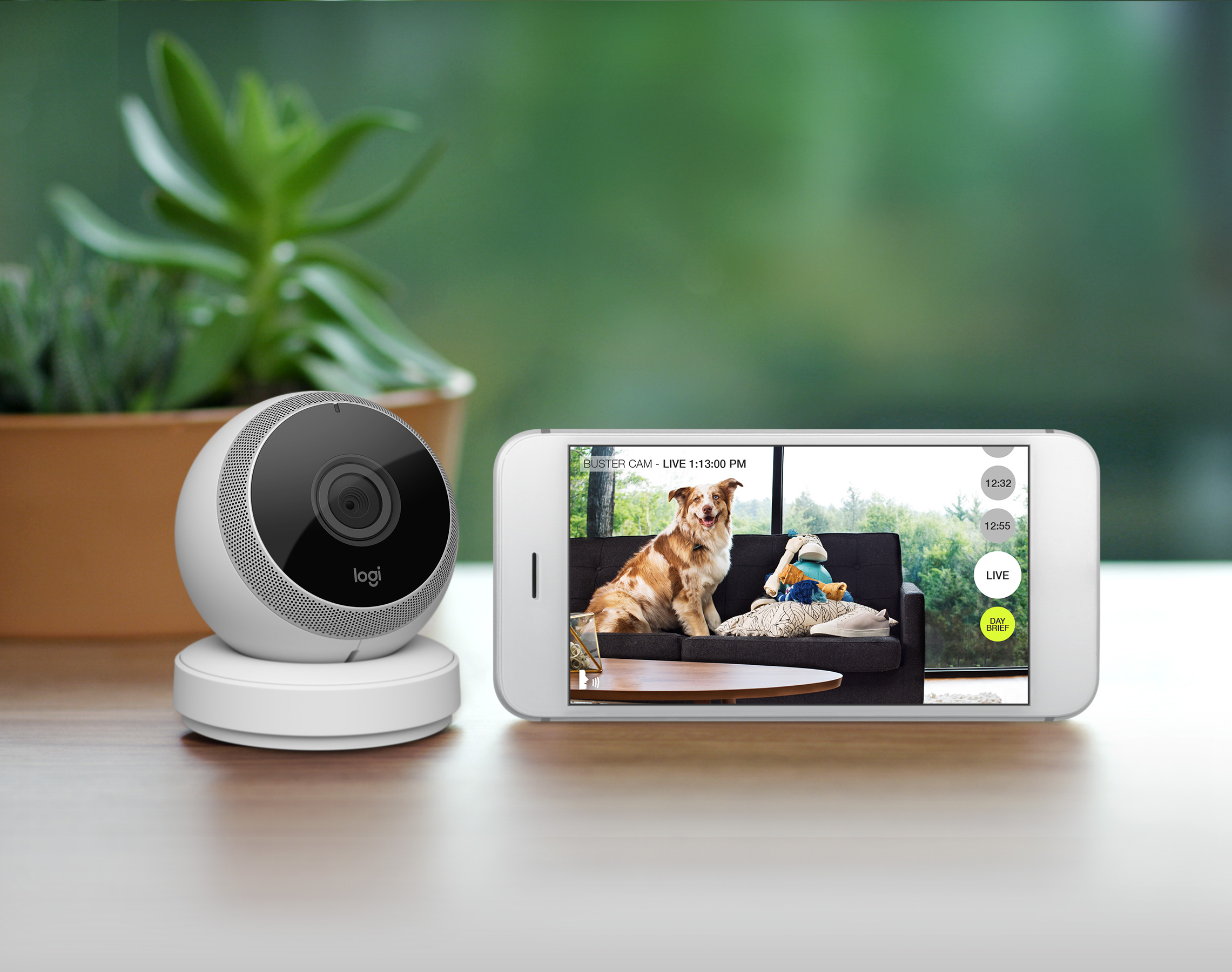 Logitech CircleYou're home.Away from home. - Logitech's first product under its new brand, Circle expanded the company beyond mice and keyboards into smart home products. Sideways helped to position Circle as the home camera that connects you to family, setting it apart from a crowded home security marketplace.  Creative Direction, advertising, photo & Video