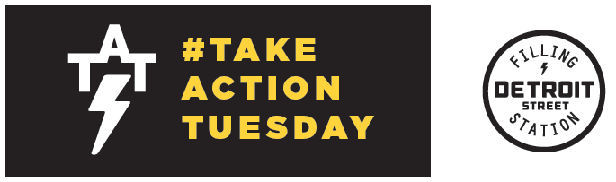 Click for more information about our Take Action Tuesday