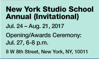 Pleased to be included in the New York Studio Alumni Show.