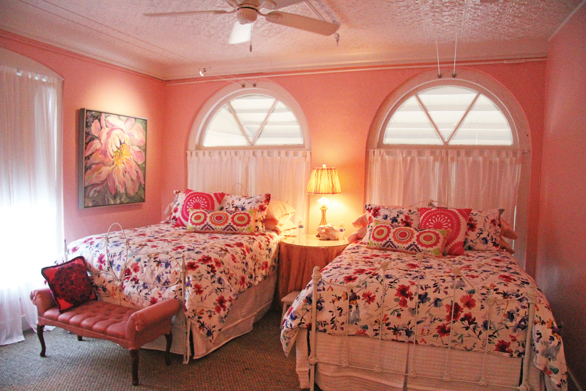 ROOM 1 - CHURCH STREET - TWO QUEEN BEDS