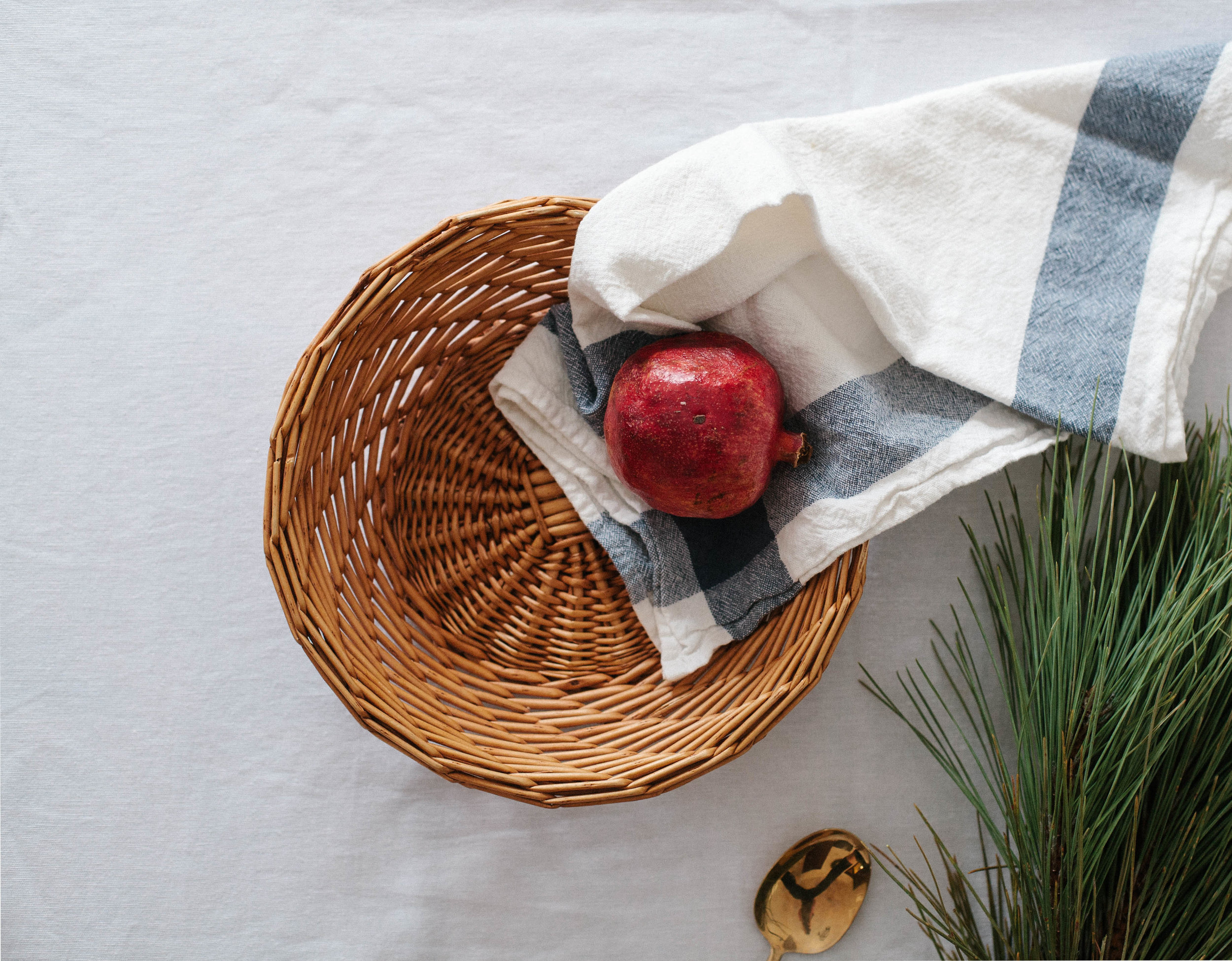 Shop this catchall basket  here .