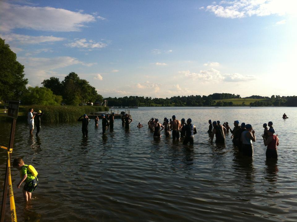 Mid-Atlantic Multisport - Mid-Atlantic Multisport, run by Coach Bill Hauser, holds open water swims at Marsh Creek State Park, Downingtown, PA.